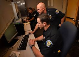 travis whitman top shows the features of the garden grove pd s new spillman public safety puter aided dispatch software to officer chasen contreras