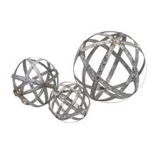 Decorative Metal Balls Decorative Balls Accent Pieces For Less Overstock 4
