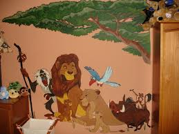 decor nursery ideas with matching wall decal lion king re leone