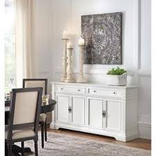 Small Picture Windham 2 Door Accent Buffet Cabinet with Shelves Threshold