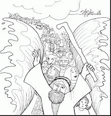Small Picture good moses and red sea coloring page with baby moses coloring page