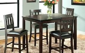 black bar table pub set with 2 stools round bistro and chairs faux marble top astonishing