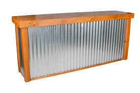calistoga corrugated metal bar