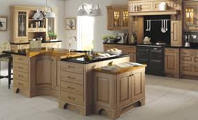 classic traditional country dante oak antiqued kitchen hero