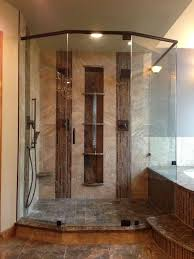 all of our shower enclosures are custom fabricated at our facility in denver and you can choose from a variety of glass hardware and finish options