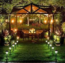 cheap outdoor lighting ideas. Outdoor Garden Lighting Ideas Collection And Solar Patio Lights An Inexpensive Way To Images Under Umbrella Canopy Smart With Regard Cheap