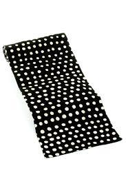 malian polka dot cotton table runner