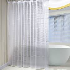 sr sun rise mildew resistant eva 3d shower curtain liner with 12 shower curtain rings 72 x72 white eco friendly non toxic no chemical odor rust proof