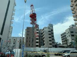 名古屋 クレーン 事故