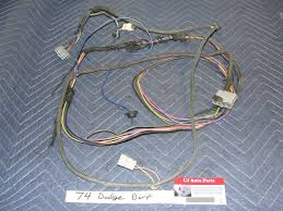 dodge 74 dodge dart plymouth complete front to rear wiring wire 74 dodge dart plymouth complete front to rear wiring wire harness fuel sensor