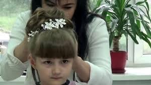 Варианты детских причесок для девочки на выпускной в садик. Pricheska Na Vypusknoj V Sadik Dlya Marichki Ochen Nezhnaya I Krasivaya Pricheska Na Dlinnye Volosy Youtube