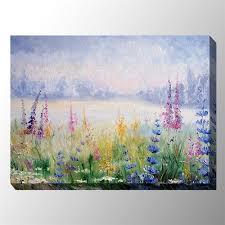 midsummer morn canvas wall art multi pastel