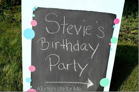 diy a frame sign birthday