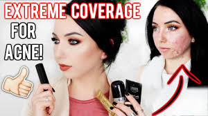 my top foundations for acne textured skin full extreme coverage makeup fair skin