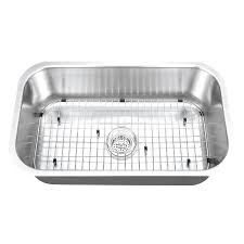 Undermount Stainless Steel Sink Single Bowl Gauge Stainless Steel