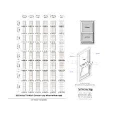 Andersen 200 Series Tilt Wash Double Hung Window Sash Channel Balancer M530 Stamped Number 15 5