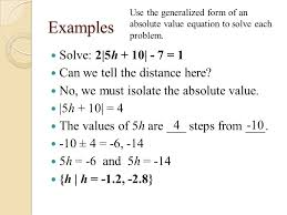 examples solve 2 5h 10 7 1 can we tell
