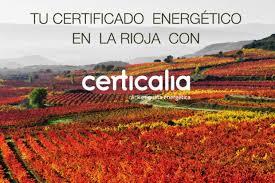 Certificado Obligatorio De Eficiencia Energética Por 69 U20ac  Oferta Certificado Energetico La Rioja