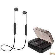 TN913 Tai nghe thể thao không dây Bluetooth 5.0 Hifi, thiết kế siêu nhỏ có  hộp sạc, hàng chất lượng
