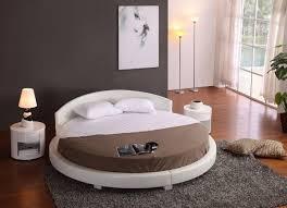 Panda Round Bed-White (87