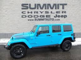 2018 jeep wrangler unlimited sahara winter edition chief blue walkaround summitauto