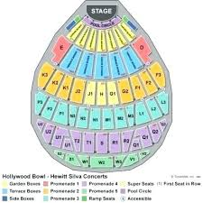 Hollywood Bowl Seating Chart Super Seats Rose Garden Seating Chart Thereismore Me