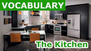 The Kitchen In The Kitchen Vocabulary Learn English Vocabulary With Pictures