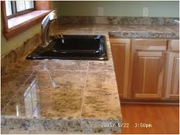 Granite Tiles For Kitchen Kitchen Tile Kitchen Countertop Lazy Granite Tile Countertop