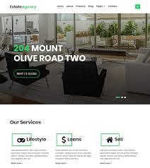 Estateagency Bootstrap Real Estate Website Template