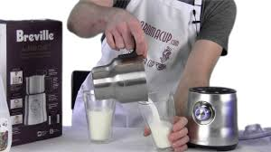 breville milk cafe frother. Perfect Milk Intended Breville Milk Cafe Frother E