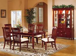 paint color for dining room with cherry furniture