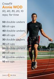 5 crossfit workouts that will kick your annie wod