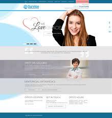 Web Design Reston Dental Website Design On Behance