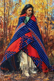 "SOLD- ""Autumn Winds"" by Barbara Summers Edwards kp 