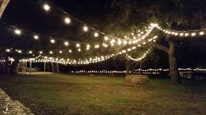 rustic outdoor string lights designs