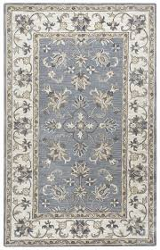 rizzy valintino soft wool rectangle area rug 5 x 8 grey tan brown ivory white
