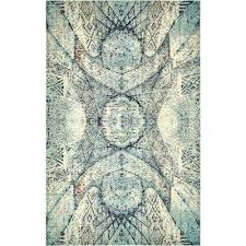 blue green area rug blue ft 6 in x ft 5 in area blue green purple