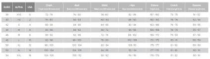 Dainese Motorcycle Pants Size Chart Disrespect1st Com