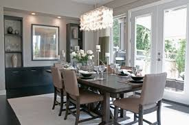 dining room crystal chandelier. Incredible Ideas Dining Room Crystal Chandeliers Redoubtable Rectangular Modern Chandelier Lighting For Large