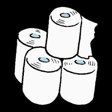 トイレットペーパーのイラスト かわいいフリー素材が無料のイラストレイン