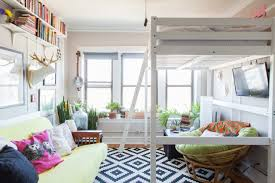 extremely tiny bedroom. A Square Foot Cozy Femme Clutter Chicago Studio Design 9 Extremely Tiny Bedroom