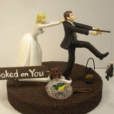 Wedding Cake Toppers Romantic Funny Decorations