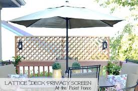 lattice privacy screen via atthepicketfence