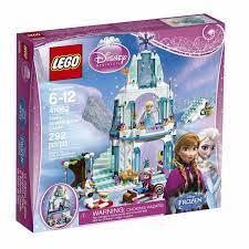 Bộ đồ chơi xếp hình Lego Disney 41062 - Elsa's Sparkling Ice Castle - Lâu  Đài Băng Của
