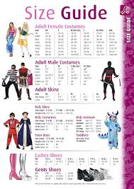 41 Unusual Halloween Costume Size Chart