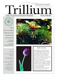Ontario Horticultural Association Newsletter Winter .4 What Is A  Development Officer Anyway? An Interview