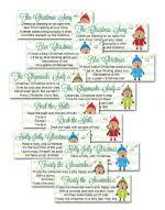 White Elephant Gift Exchange Rules And Printables  White Elephant Christmas Gift Game Exchange