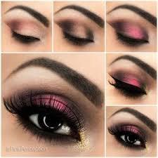 breathtaking pink smoky eye makeup tutorial easy eye makeup