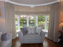roman blinds and curtains. Exellent Curtains Five Roman Blinds To Bay Window With Matching Curtains In And Curtains G