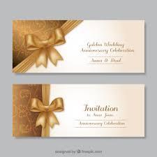 golden wedding anniversary invitations vector free download Wedding Cards Psd Free golden wedding anniversary invitations free vector wedding cards psd free download